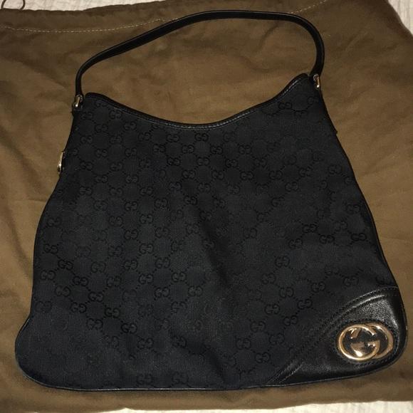 8895a2b20 Gucci Bags | Authentic New Britt Gg Canvas Hobo Bag | Poshmark